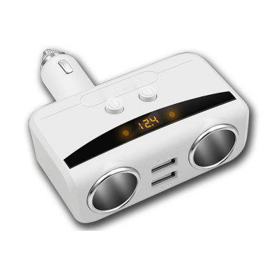 Chargeur de voiture Allume-cigare Fast-Charging Dual USB