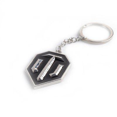 Popular Game Tank Logo Key Ring for DecorationKey Chains<br>Popular Game Tank Logo Key Ring for Decoration<br><br>Design Style: Fashion<br>Gender: Unisex<br>Materials: Metal<br>Package Contents: 1 x Key Chain<br>Package size: 5.00 x 5.00 x 5.00 cm / 1.97 x 1.97 x 1.97 inches<br>Package weight: 0.0300 kg<br>Product size: 3.10 x 4.10 x 1.00 cm / 1.22 x 1.61 x 0.39 inches<br>Product weight: 0.0280 kg<br>Stem From: Other<br>Theme: Hang Decoration