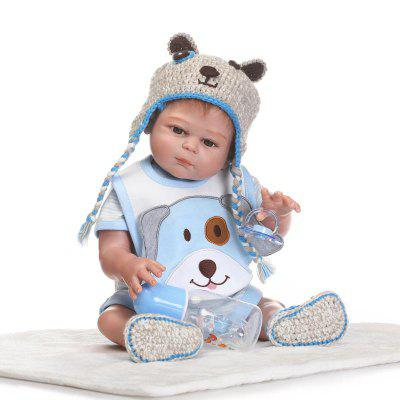 1638 NPK Soft Silicone Baby Boy Doll Toy
