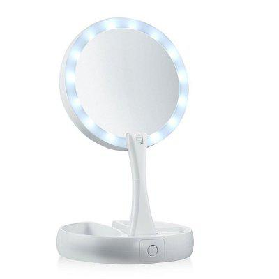 YSY - HR – 0802 Adjustable Stand LED Lighted Makeup Mirrors only $15.99