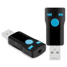 BC07 USB Bluetooth Audio Receiver Car MP3 Player Adapter