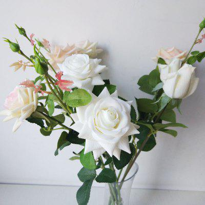 LmDec Artificial Rose for Home Party Decoration