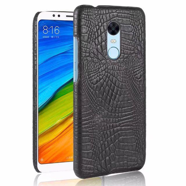 LEEHUR Crocodile Pattern Hard PC Case for Xiaomi Redmi 5
