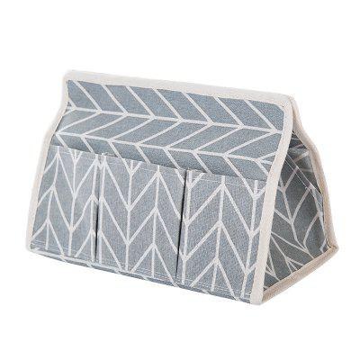 Tissue Stuff Cotton 6 Pockets Storage Box