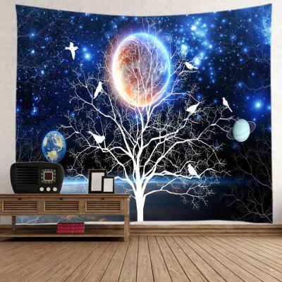 Galaxy Tree Print Tapestry Wall Hanging DecorationBlanksts&amp; Throws<br>Galaxy Tree Print Tapestry Wall Hanging Decoration<br><br>Feature: Washable<br>Material: Polyester<br>Package Contents: 1 x Tapestry<br>Shape/Pattern: Plant<br>Style: Fashion<br>Weight: 0.3000kg