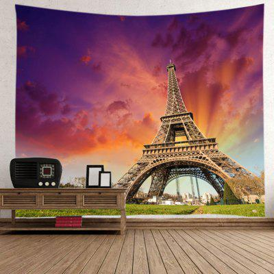 Sunset Effiel Tower Print Tapestry Wall HangingBlanksts&amp; Throws<br>Sunset Effiel Tower Print Tapestry Wall Hanging<br><br>Feature: Washable<br>Material: Polyester<br>Package Contents: 1 x Tapestry<br>Shape/Pattern: Buildings<br>Style: Fashion<br>Theme: Architecture<br>Weight: 0.3000kg