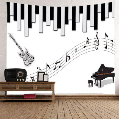 Musical Instrument Print Tapestry Wall Hanging DecorationBlanksts&amp; Throws<br>Musical Instrument Print Tapestry Wall Hanging Decoration<br><br>Feature: Washable<br>Material: Polyester<br>Package Contents: 1 x Tapestry<br>Shape/Pattern: Print<br>Style: Fashion<br>Theme: Music<br>Weight: 0.3000kg