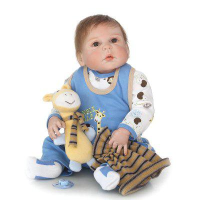NPK Emulate Reborn Baby despierto Doll Sleep Helper Toy
