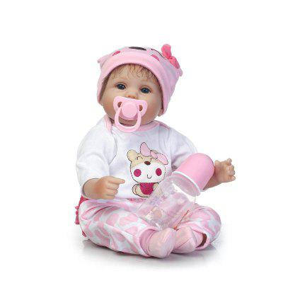NPK Emulate Reborn Baby Sleep Helper Muñeca rellena