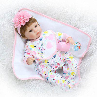 NPK Emulate Reborn Baby Cute Doll Sleep Helper peluche de juguete