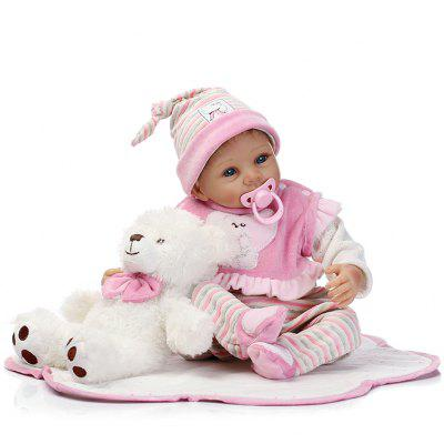 NPK Emulate Reborn Baby Doll Sleep Helper suave peluche de juguete