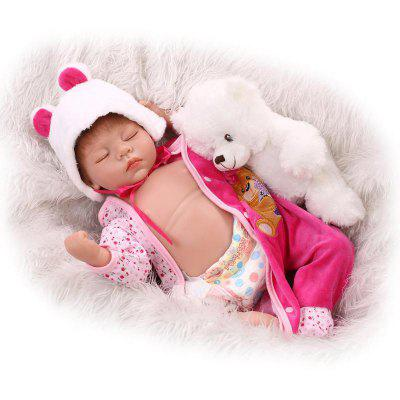 Multifunctional Soft Silicone Emulation Baby Doll Toy