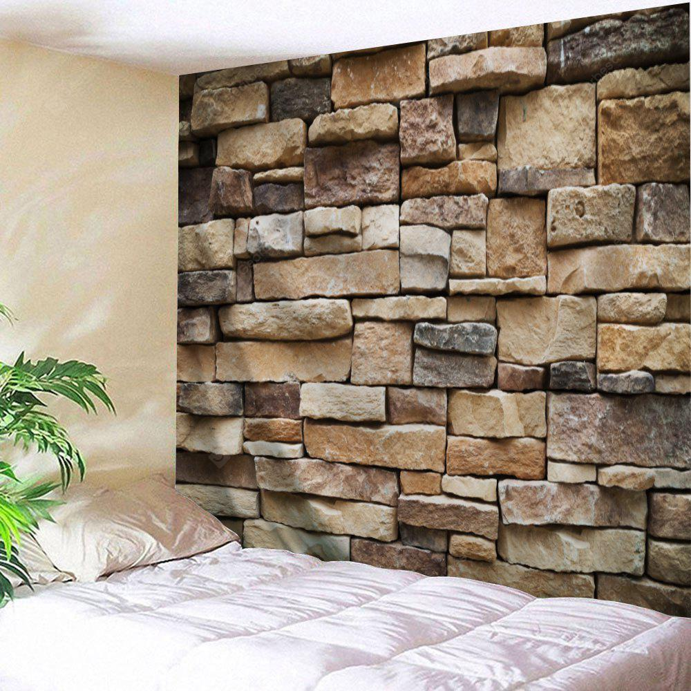 Stones Brick Wall Pattern Tapestry Wall Hanging