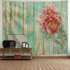 Flowers Wooden Board Print Hanging Decor Tapestry - COLORMIX