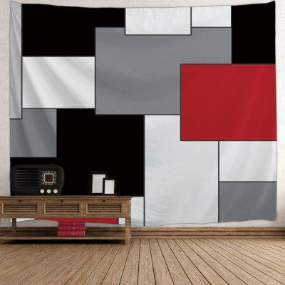Color Block Print Wall Art TapestryBlankets &amp; Throws<br>Color Block Print Wall Art Tapestry<br><br>Feature: Removable, Washable<br>Material: Polyester<br>Package Contents: 1 x Tapestry<br>Shape/Pattern: Geometric<br>Style: Novelty<br>Weight: 0.2100kg