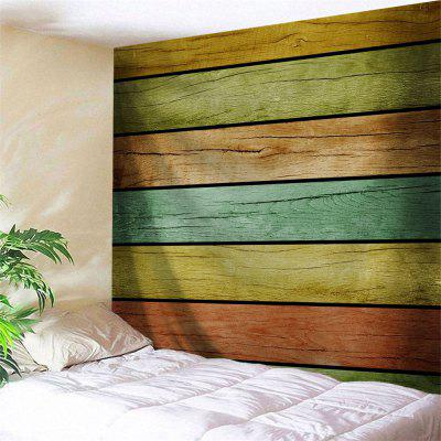 Wall Hanging Wooden Board Pattern Tapestry