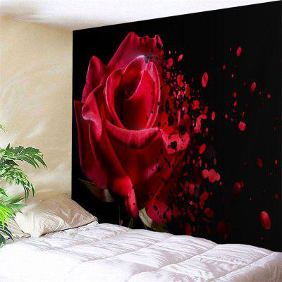 Wall Hanging Rose Flower Print Tapestry