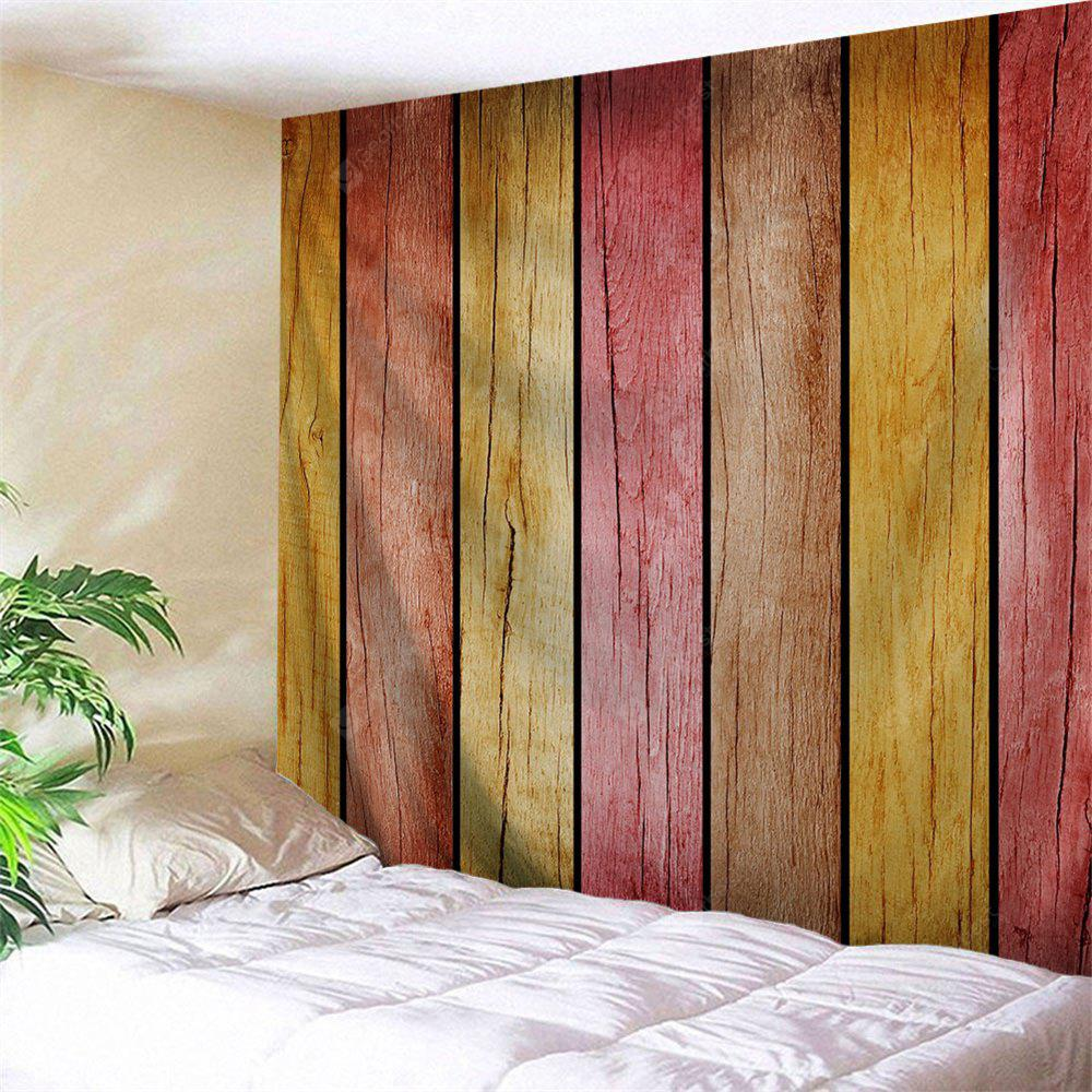 Rainbow Wood Board Printed Home Decor Wall Hanging Tapestry