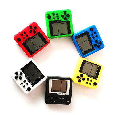 Mini Classic Toys with LCD Screen for Kids 26 GamesHandheld Games<br>Mini Classic Toys with LCD Screen for Kids 26 Games<br><br>Compatible with: Built-in Games<br>Language: English<br>Package Contents: 1 x Game Electronic Toy<br>Package size: 5.50 x 3.50 x 5.50 cm / 2.17 x 1.38 x 2.17 inches<br>Package weight: 0.0380 kg<br>Power Supply: 2 x AG10 or 2 x LR1130<br>Pre-positioned Games Number: 26<br>Product size: 4.50 x 2.50 x 4.50 cm / 1.77 x 0.98 x 1.77 inches<br>Product weight: 0.0280 kg
