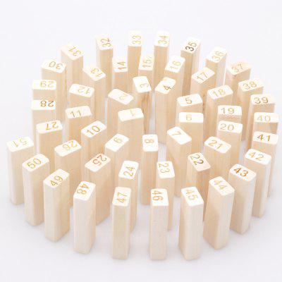 Fa Szám Pattern Building Block Puzzle Toy