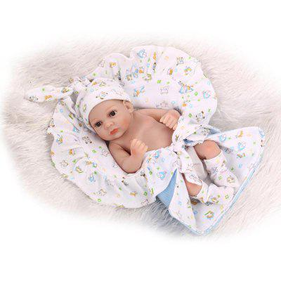 Emulate Reborn Baby Boy Doll Bathing Toy Gift