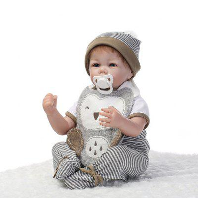 Emulate Reborn Baby Doll Stuffed Pretend Play Toy Gift