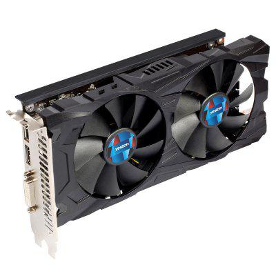 Yeston RX550 4G D5 Graphics CardGraphics &amp; Video Cards<br>Yeston RX550 4G D5 Graphics Card<br><br>Brand: Yeston<br>Chipset Manufacturer: AMD<br>CUDA Cores: 512<br>Engine Clock: 1183MHz<br>Graphics Chipset: Polaris 21<br>I/O Interface: 1 x DVI, 1 x HDMI, 1 x DisplayPort<br>Interface Type: PCI-E 3.0<br>Maximum Resolution: 4K<br>Memory Bus Width: 128Bit<br>Model: RX550 4G D5<br>Package size: 34.00 x 23.00 x 6.90 cm / 13.39 x 9.06 x 2.72 inches<br>Package weight: 1.1000 kg<br>Packing List: 1 x Graphics Card, 1 x English User Manual<br>PCI Express Type: PCI-E 3.0<br>Power: 50W<br>Power Interface: 6Pin<br>Power Supply Type: 4+2 Phase<br>Process Technology: 14nm<br>Product size: 22.30 x 10.90 x 4.50 cm / 8.78 x 4.29 x 1.77 inches<br>Product weight: 1.0000 kg<br>Radiator Type: Dual Fans<br>Supports System: Windows 10 64bit, Ubuntu 16.04 64bit, Win7 64<br>Video Memory Capacity: 4GB<br>Video Memory Frequency: 6000MHz<br>Video Memory Type: DDR5