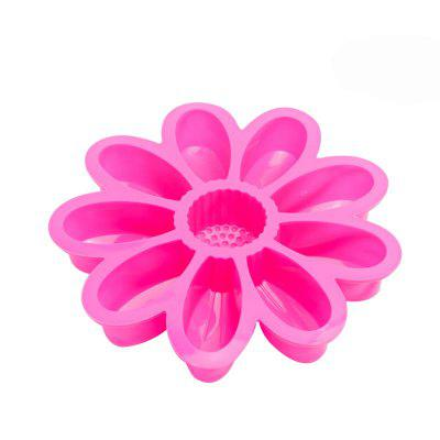 DIY Flower Design Cake Mold Silicone Candy Bakery Tool
