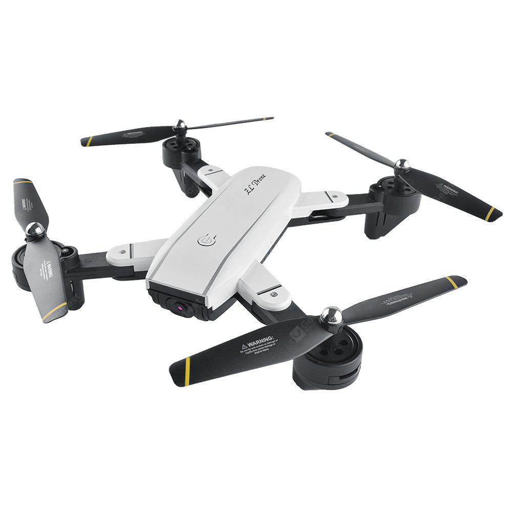 SG - 700 Satellite Navigation Foldable RC Drone Quadcopter - Hvítur 720P WIFI FPV CAMERA