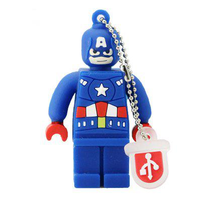 Cartoon USB 2.0 Flash Drive 32GB