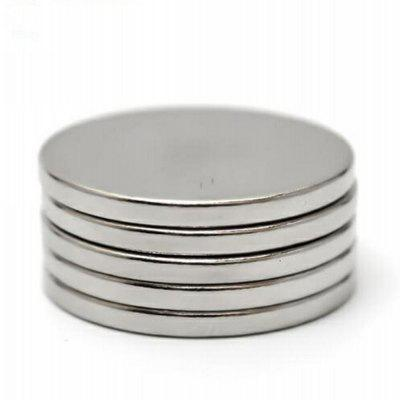 25 x 2mm Round N38 NdFeB Magnet Fidget Toy for DIY 5pcs