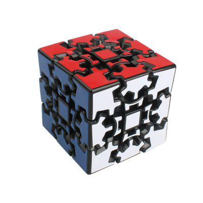 QiYi 3 x 3 x 3 Gear Speed ​​Smooth Magic Cube Finger Puzzle Toy