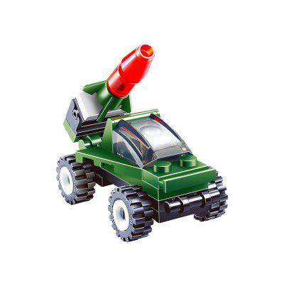 Building Blocks Mini Rocket Launcher Model Assemble Toy onshine 70pcs train toy model cars wooden building slot track rail transit parking garage toy vehicles kids gifts