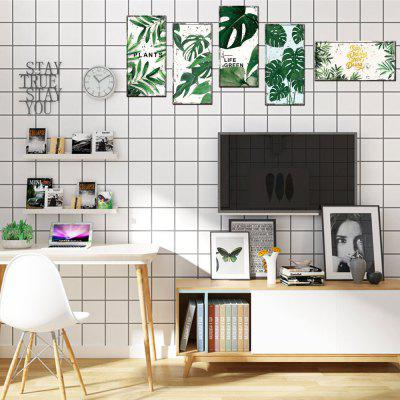3D Creative Wall Sticker for Home Decoration  5PCS