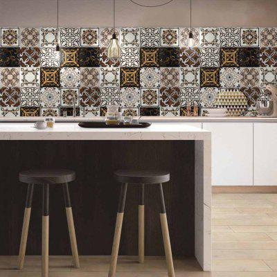 Creative Artificial Retro European Ceramic Sticker Wall DecorationWall Stickers<br>Creative Artificial Retro European Ceramic Sticker Wall Decoration<br><br>Function: Decorative Wall Sticker<br>Material: Vinyl(PVC)<br>Package Contents: 1 x Wall Sticker<br>Package size (L x W x H): 20.00 x 5.00 x 5.00 cm / 7.87 x 1.97 x 1.97 inches<br>Package weight: 0.4500 kg<br>Product size (L x W x H): 500.00 x 20.00 x 0.03 cm / 196.85 x 7.87 x 0.01 inches<br>Product weight: 0.3450 kg<br>Quantity: 1 piece<br>Subjects: Vintage<br>Suitable Space: Bathroom,Kitchen<br>Type: Plane Wall Sticker