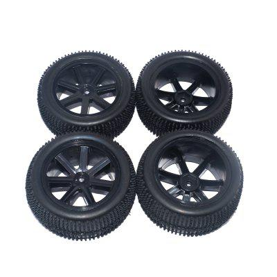 zd racing lrp 122266 pre-glued front rear wheel tire 4pcs