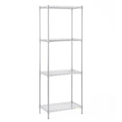 COZZINE 4 Shelf Steel Wire Storage Shelving Unit