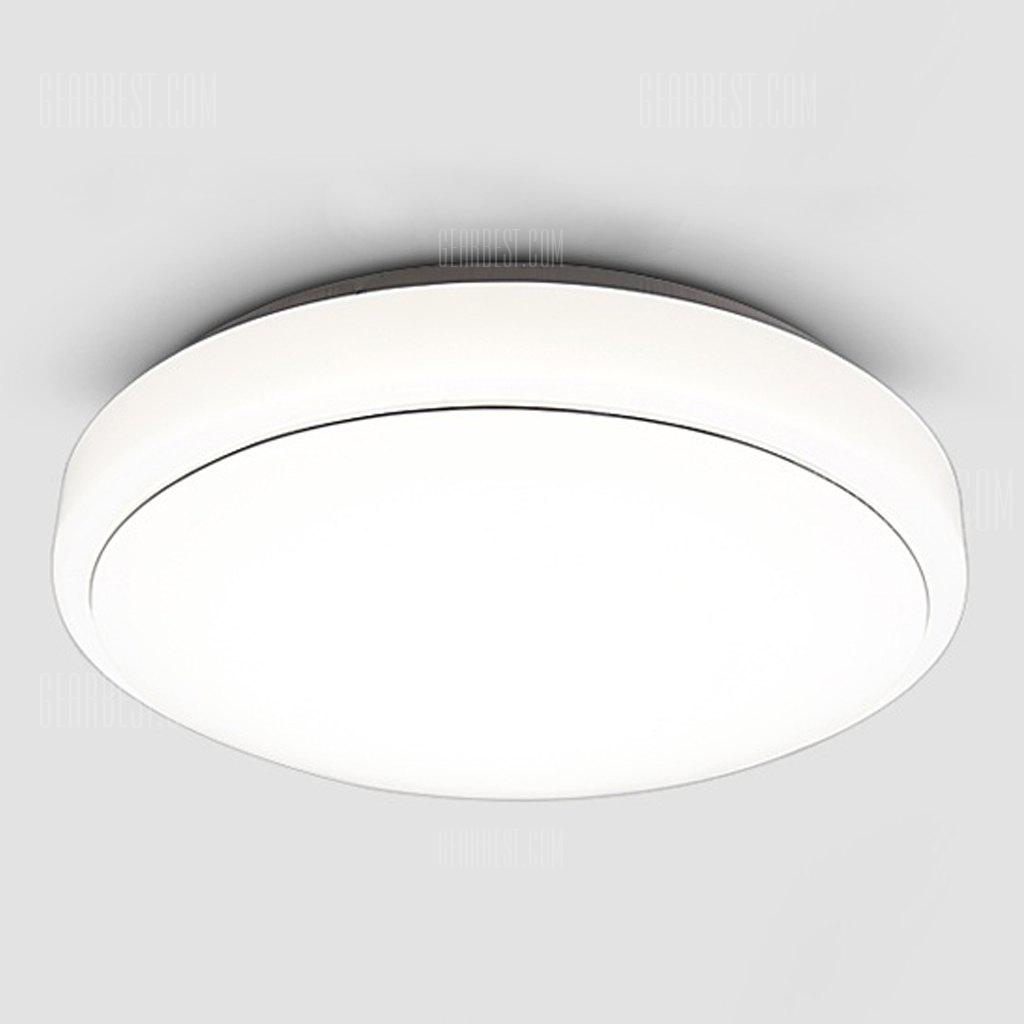 Floureon®18W Round LED Ceiling Light,7000k Bright Light,1600 Lumens ...