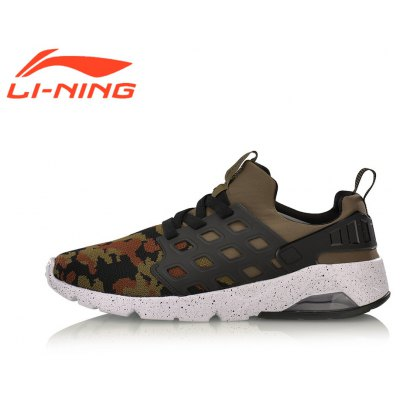 Li-ning Men's Bubble Ace Stylish Shoes  Light Weight Sneakers AGLM019