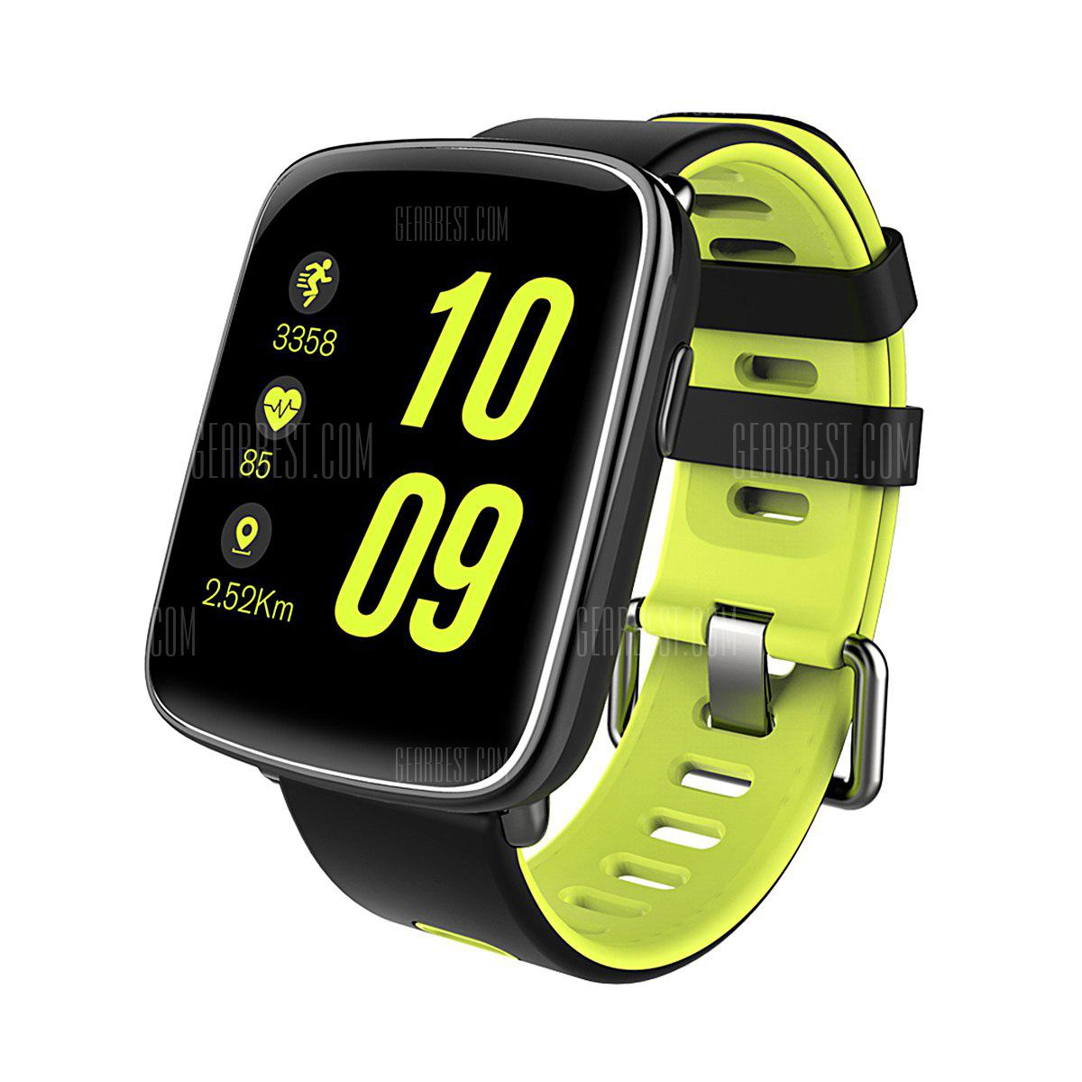 Diggro GV68 Smart Bluetooth Watch IP68 MTK2502D Heart Rate monitor Pedometer Sleep Monitor Sedentary Reminder Remote Music&Camera Anti-lost for Android & IOS Three Colors