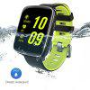Diggro GV68 Smart Bluetooth Watch IP68 MTK2502D Heart Rate monitor Pedometer Sleep Monitor Sedentary Reminder Remote Music&Camera Anti-lost for Android & IOS Three Colors - GREEN