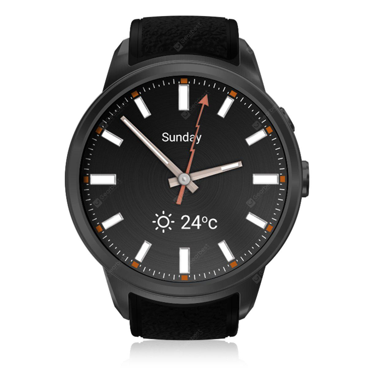 Diggro DI01 Smart Watch Android 5.1 IP67 MTK6580 1GB/16GB Nano SIM 3G WIFI 2.0MP Camera Call Heart Rate Monitor Pedometer Weather Health Reminder for Android IOS