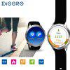 Diggro DI01 Smart Watch Android 5.1 IP67 MTK6580 1GB/16GB Nano SIM 3G WIFI 2.0MP Camera Call Heart Rate Monitor Pedometer Weather Health Reminder for Android IOS - SILVER