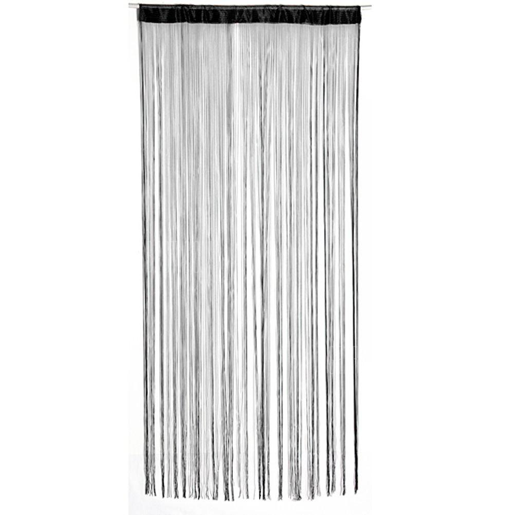 Buy string curtains patio net fringe door fly screen for Door net curtains