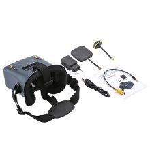 New Arrivial LS-008D 5.8G 40CH 2000mA Built-in Battery DVR Diversity FPV Goggles For RC Model