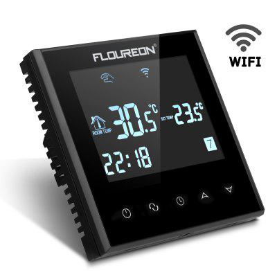 Floureon Programmable Digital Touch Screen Thermostat