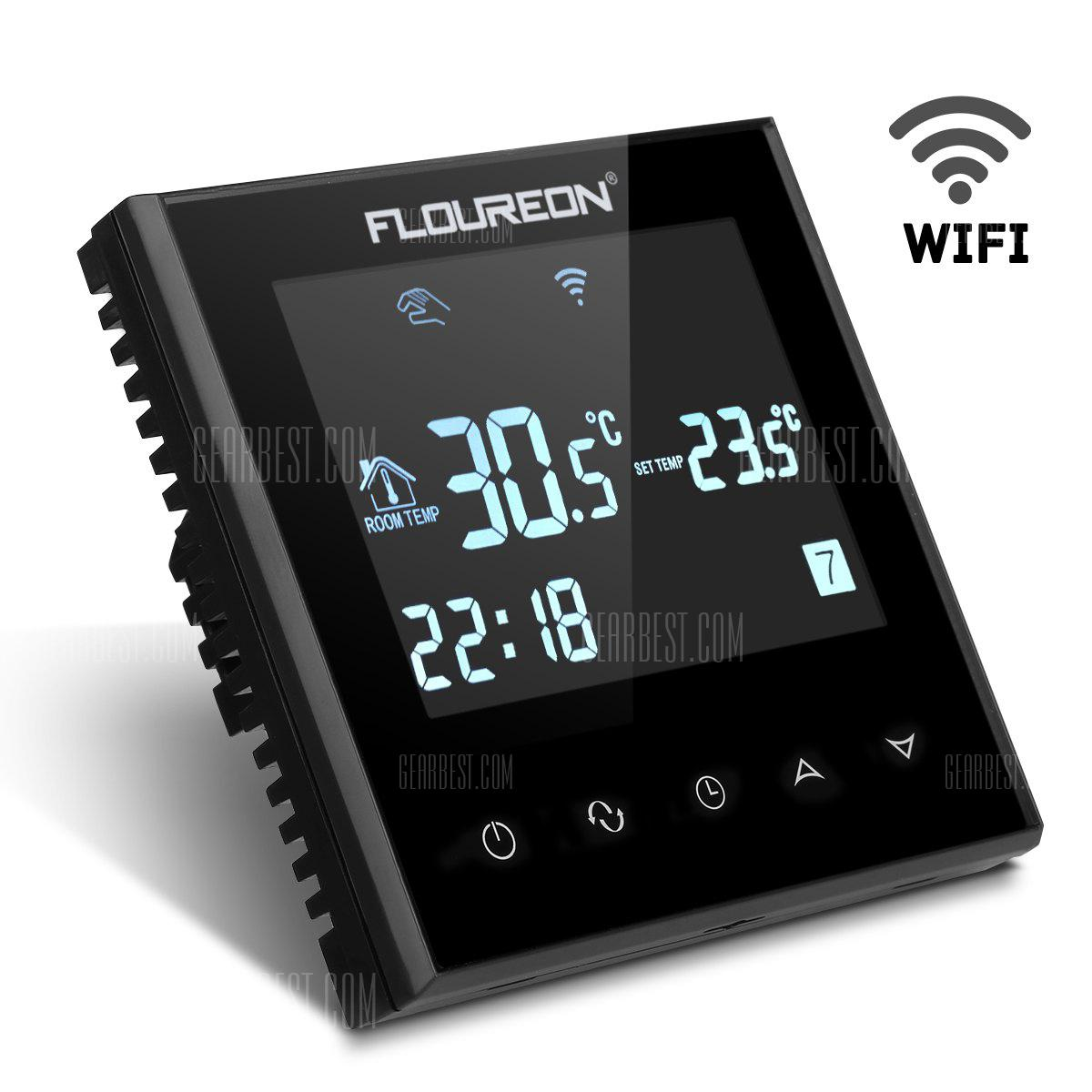 Floureon Smart Wi-Fi Programmable Digital Touch Screen Thermostat HY03WE-4-Wifi