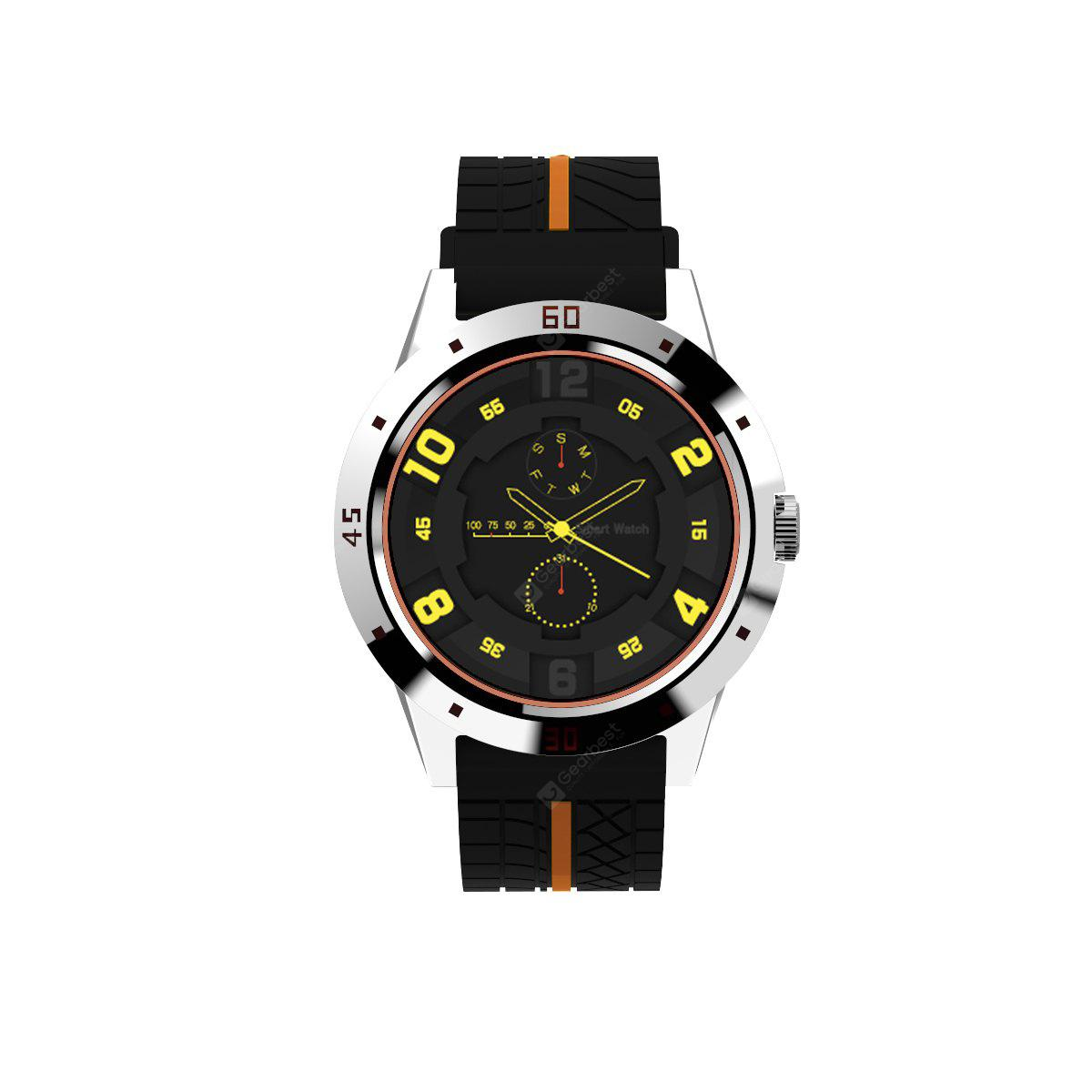 Diggro DI02 Bluetooth Siri Smart watch MTK2502C 128MB+64MB Heart Rate Monitor Pedometer Sleep Monitor Sedentary Remind  Notifications Pushing for Android & IOS