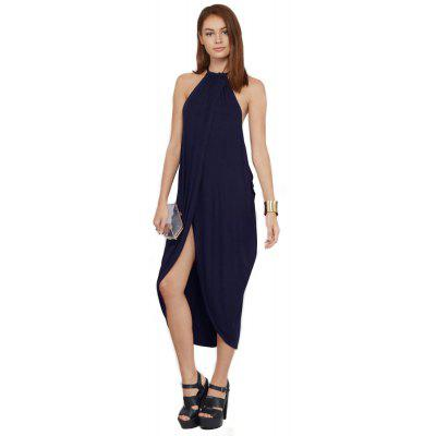 2016 new arrival summer style spaghetti strap dress woman irregular hem design loose dress lantern shape dress