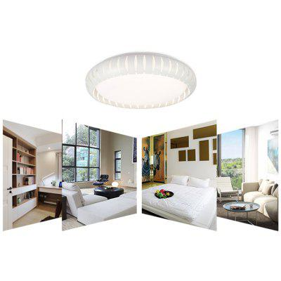 Floureon®18inch 30W Round LED Ceiling Light,Metal Frame,220V, 3000 ...